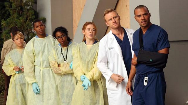 Eine Gruppe von Ärztinnen und Ärzten.