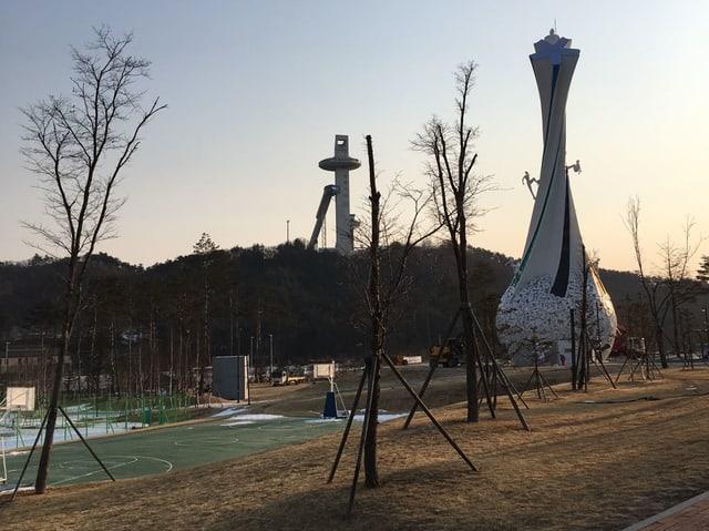 Alpensia – das Skigebiet in Pyeongchang.