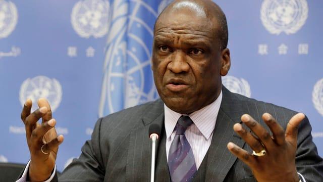John Ashe, ehemaliger Präsident der UNO-Generalversammlung
