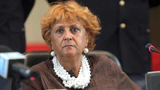 Ilda Boccassini in Grossaufnahme