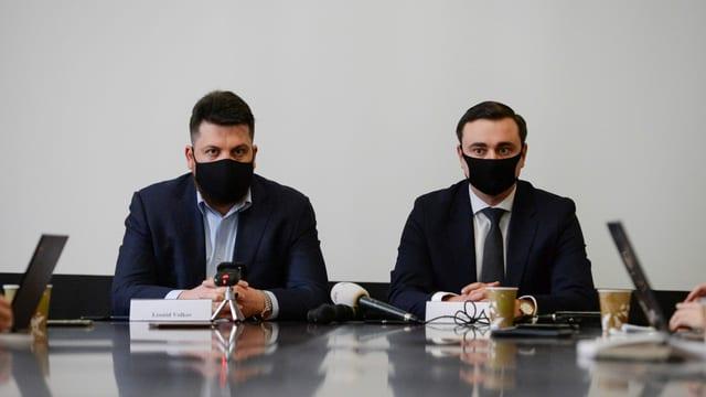 Leonid Wolkow und Iwan Schdanow und