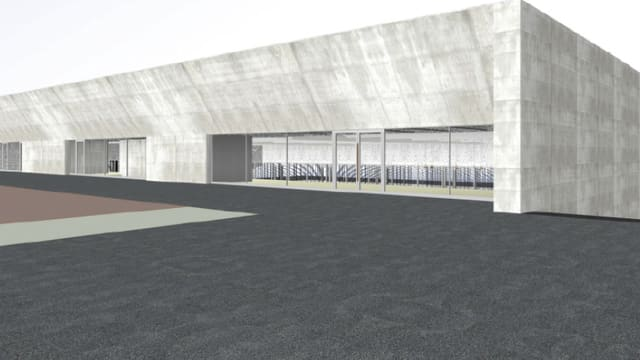 Visualisierung der Turnhalle