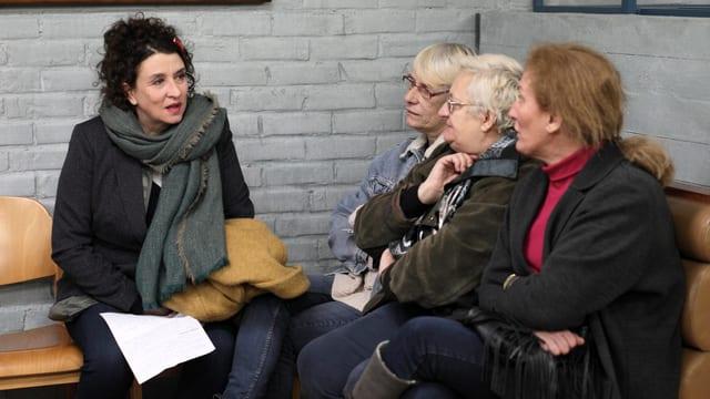Frauen Gesprächsrunde