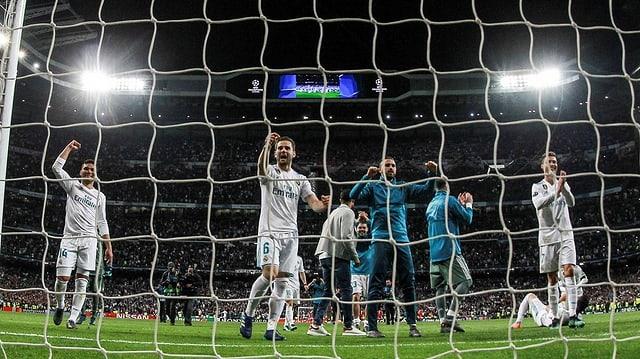 Il plaschair tar Real Madrid è grond.