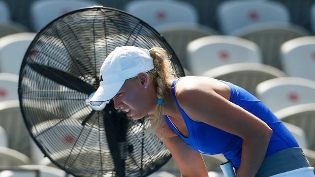 Caroline Wozniacki an den Australian Open 2013