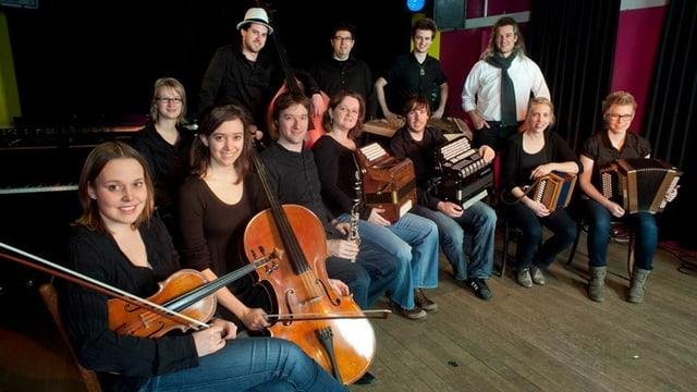 Die Instrumentalisten der Formation