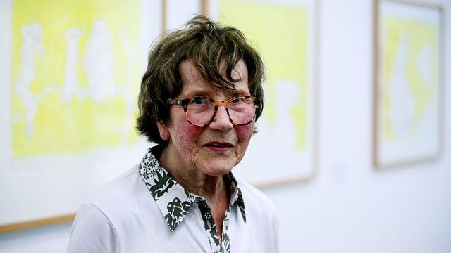 Grande Dame der zeitgenoessischen Malerei: Maria Lassnig.