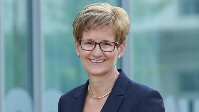 Sabine Pegoraro, Baudirektorin des Kantons Baselland.