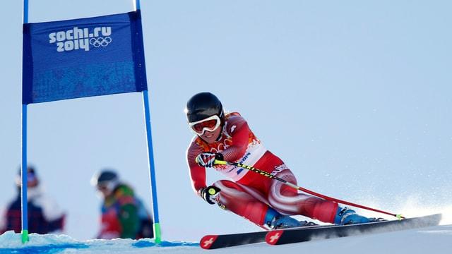 Fabienne Suter überzeugte mit Rang 2.