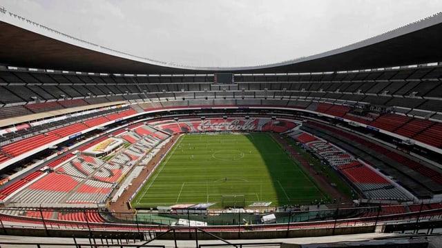 Azteken-Stadion beschädigt