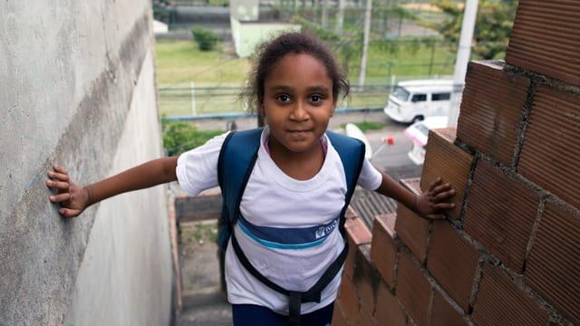 Im Zentrum von São Martinho erhalten die Kinder Mahlzeiten, können Duschen und werden bei rechtlichen und medizinischen Problemen unterstützt.