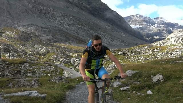 Video ««Wild Ride» mit dem Bike: 20'000 Höhenmeter in 48 Stunden» abspielen