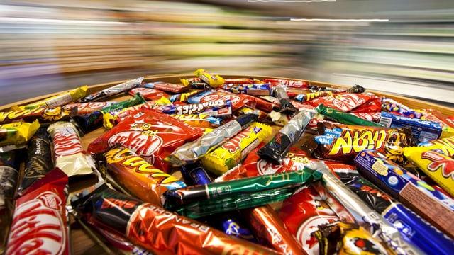 Schokoladenprodukte von Néstlé