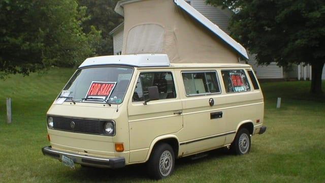 sind Vans für etwas andere Zwecke genutzt.