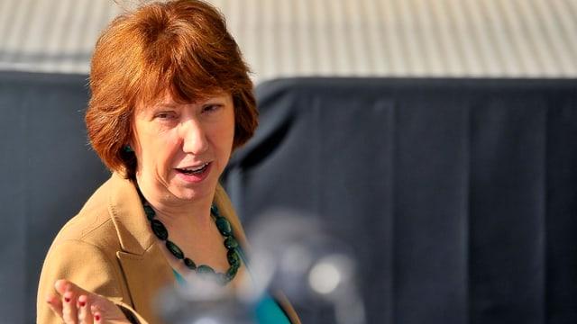 EU-Aussenbeauftragte Catherine Ashton.