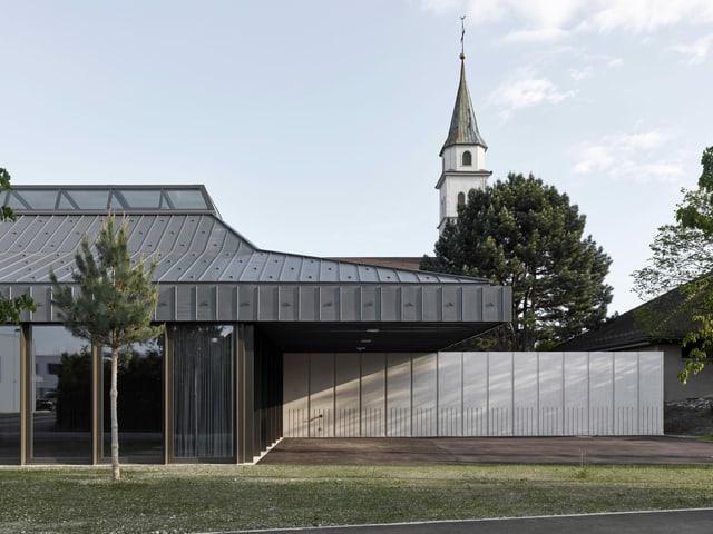 Neues Pfarreizentrum Kriegstetten Aussenansicht