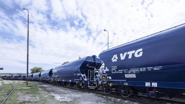 Güterwaggons der Deutschen VTG