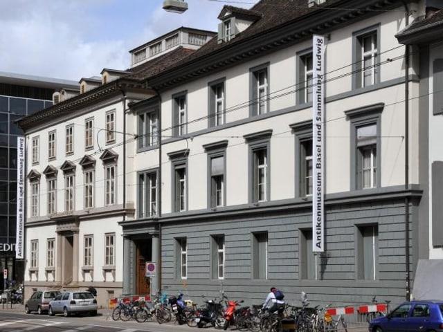 Blick auf die Aussenfassade des Antikenmuseums