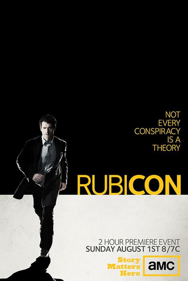 Das Plakat der US-Serie «Rubicon» (2010).