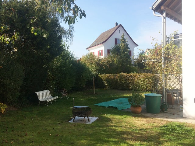 Garten von Familie Siegenthaler