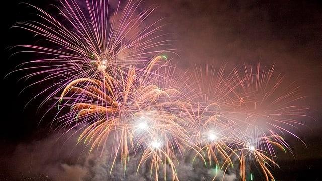 Grosses Feuerwerk