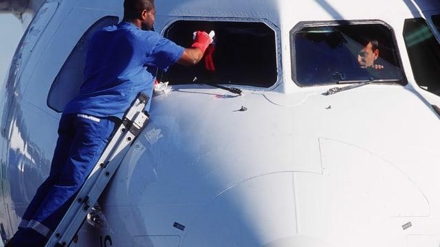 Flugzeugfenster