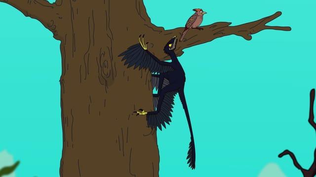 Video «Ralph und die Dinosaurier: Microraptor (13/26)» abspielen