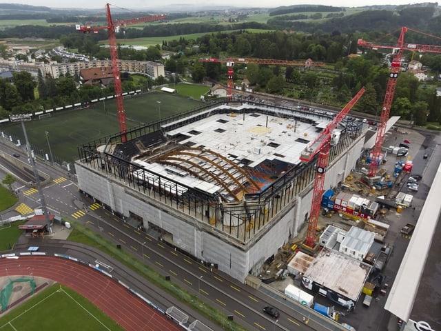 Eine der Baustellen des Schweizer Eishockeys steht in Freiburg.