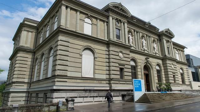 Aussenansicht des Berner Kunstmuseums.