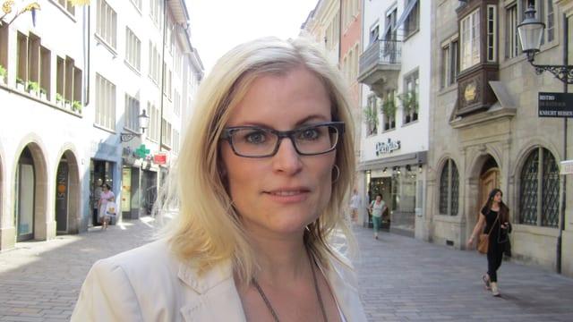 Winterthurs Finanzstadträtin Yvonne Beutler (SP)
