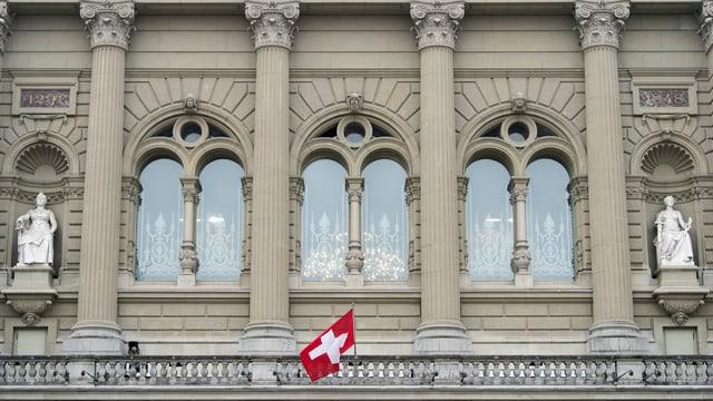 Balkon des Bundeshauses
