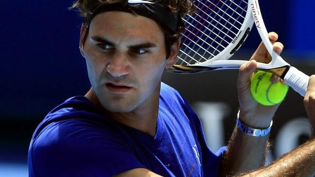Das Los meinte es mit Federer in Melbourne nocht so gut.