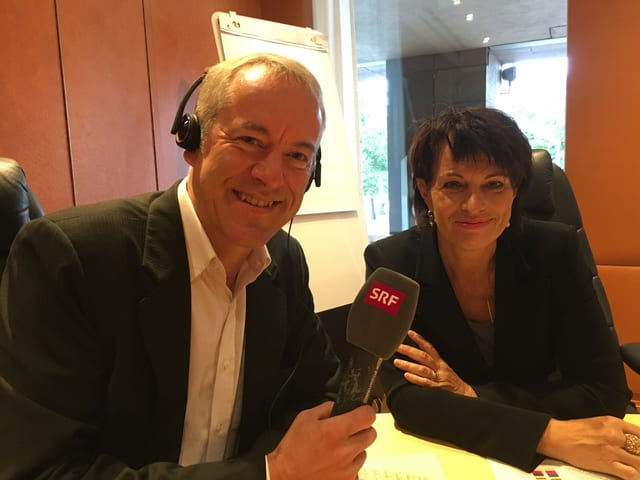 Bruno Kaufmann  interviewt Doris Leuthard
