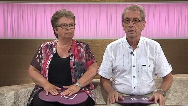 Blanca Imboden und Peter Bachmann