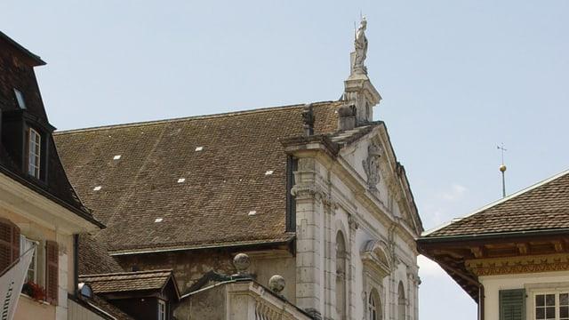 Fassade Jesuitenkirche Solothurn