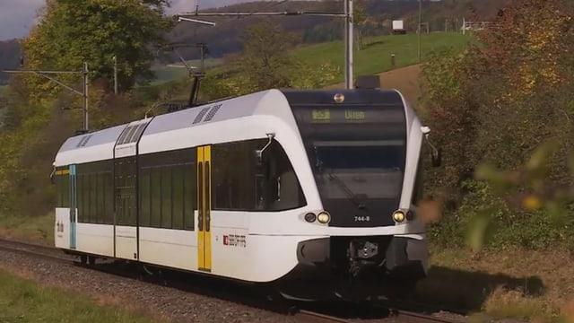 Bahn in Landschaft