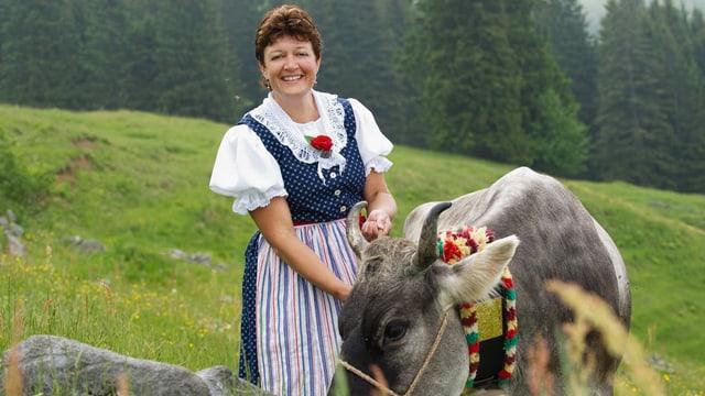 Video ««SRF bi de Lüt – Landfrauenküche» (3): Yvonne Bischof» abspielen