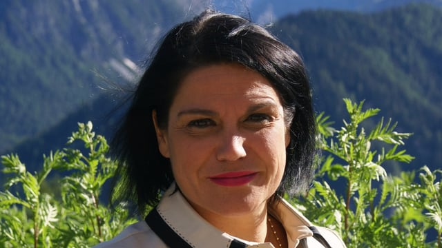 Lucia Morandi, scolasta a l'Institut Otalpin Ftan.