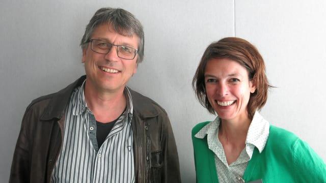 Martin Stuber und Birgit Stalder