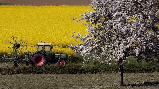 Bauer beim Einsatz