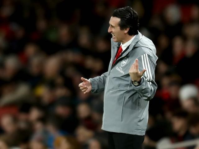 Unai Emery ist nicht mehr Trainer bei Arsenal.