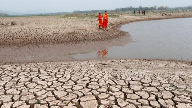 Wasserknappheit in der Provinz Lampang in Nordthailand.