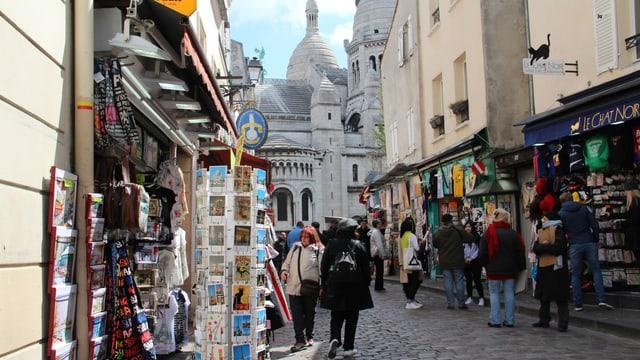 Il quartier da Montmartre.