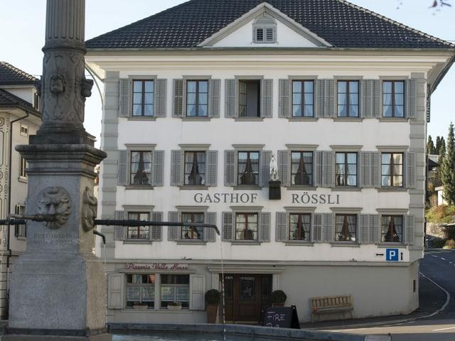 Gasthaus Rössli in Ruswil.