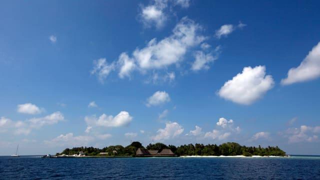 Blick auf eine Insel der Malediven. (reuters)