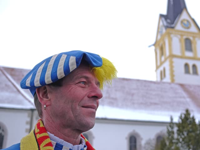 Ein Porträt von Narrenpräsident Markus.