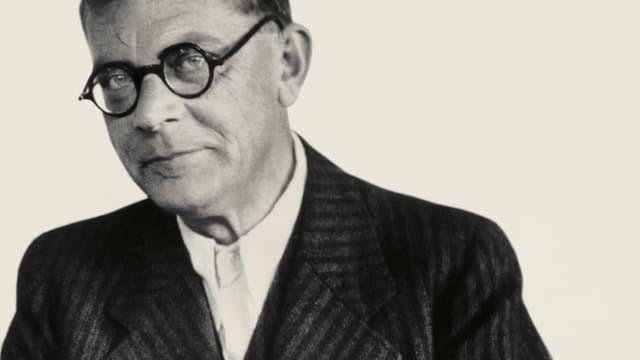 Ein Porträt von Hans Fallada.