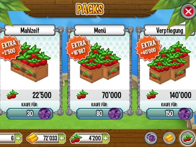 Beeren kaufen für Edelsteine.