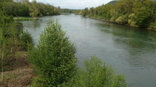 Zusammenfluss der Flüsse.