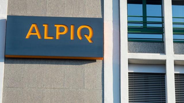 Il logo da Alpiq.